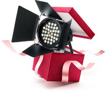 Geschenke für Lichttechniker