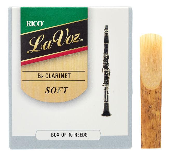 Daddario Woodwinds La Voz Bb- Clarinet S