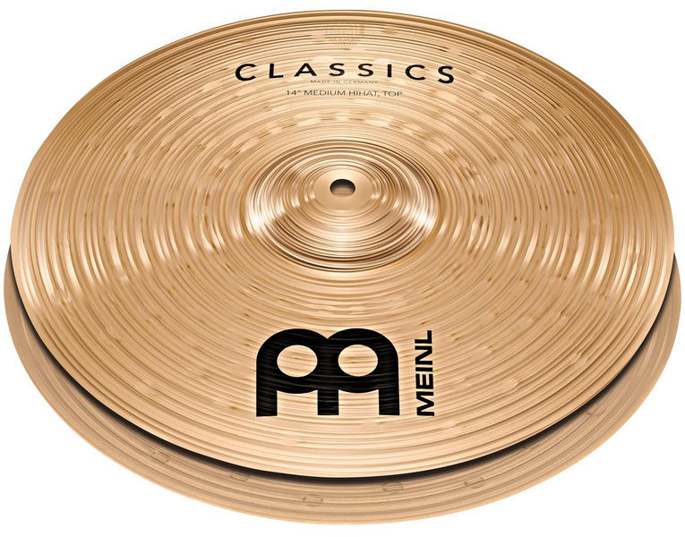 "Meinl 14"" Classics Medium Hi-Hat"