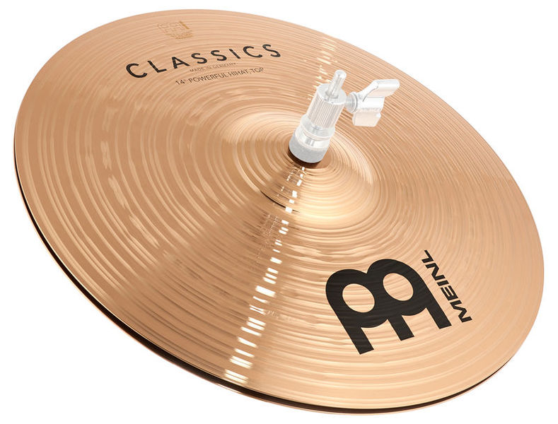 "Meinl 14"" Classics Powerful Hi-Hat"