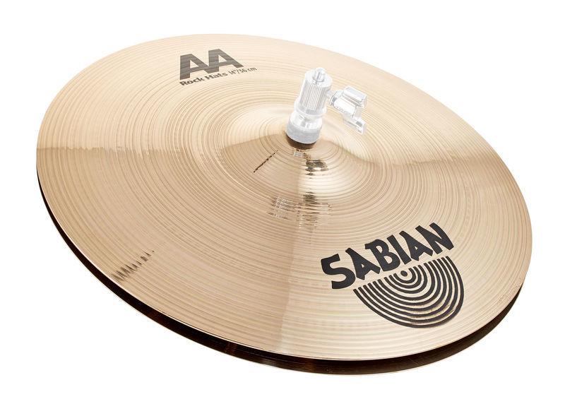 """Sabian 14"""" AA Rock Hi-Hat"""