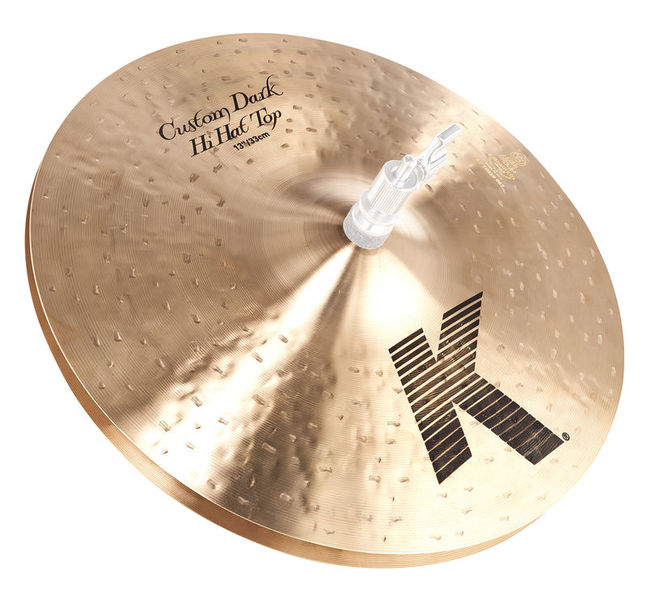 "Zildjian 13"" K-Custom Dark Hi-Hat"