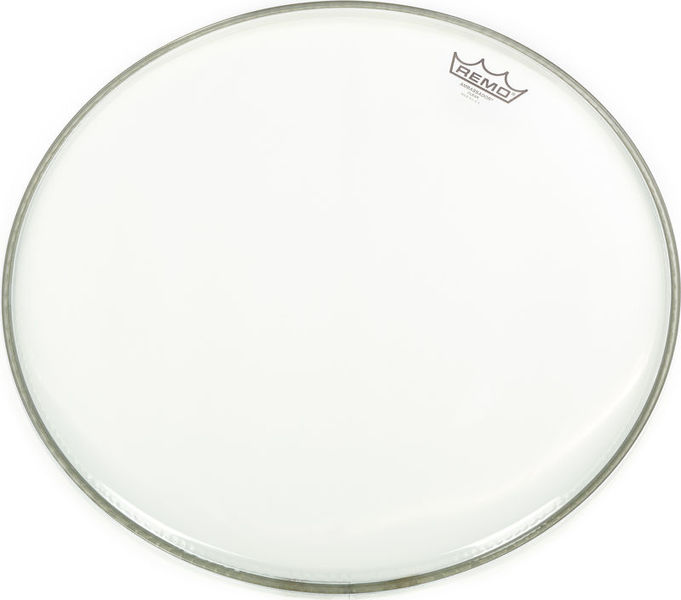"Remo 18"" Ambassador Clear Bass Drum"