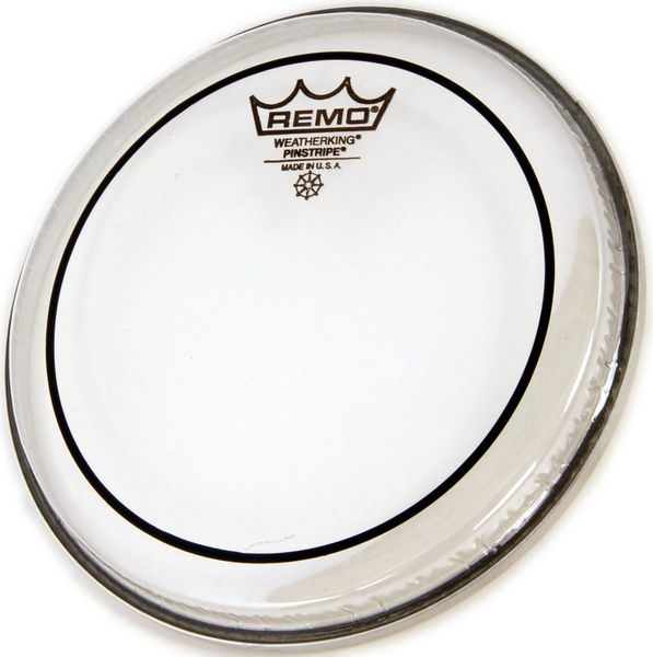 "Remo 22"" Pinstripe Clear Bass Drum"