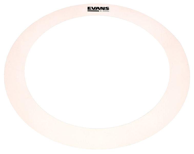 """Evans E-Ring 14"""" Clear Tom"""