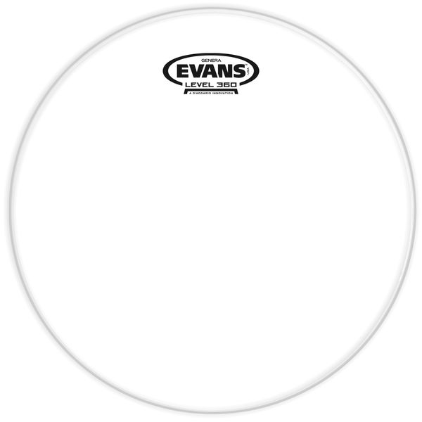 "Evans 12"" Resonant Head Tom Clear"