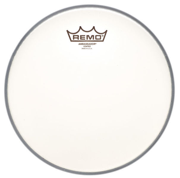 "Remo 10"" Ambassador Coated"
