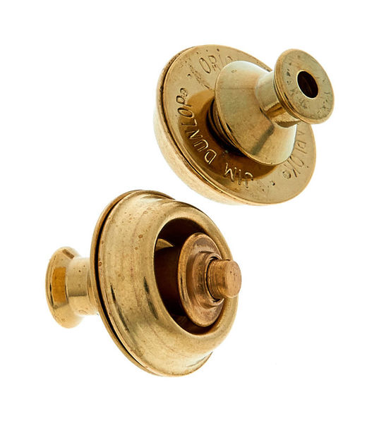 Dunlop Straplocks Brass