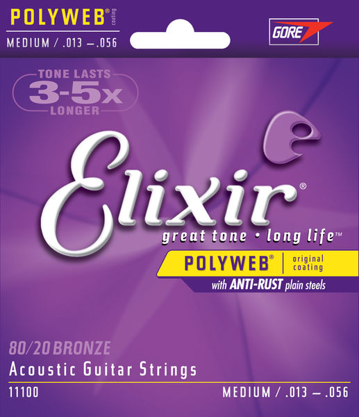 Elixir Polyweb Medium Acoustic