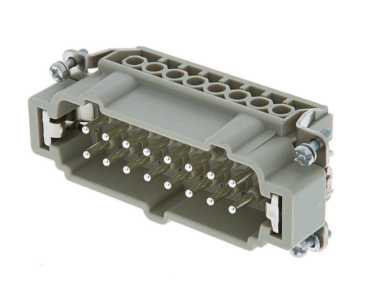 Harting 16pin Male Multipin chassis