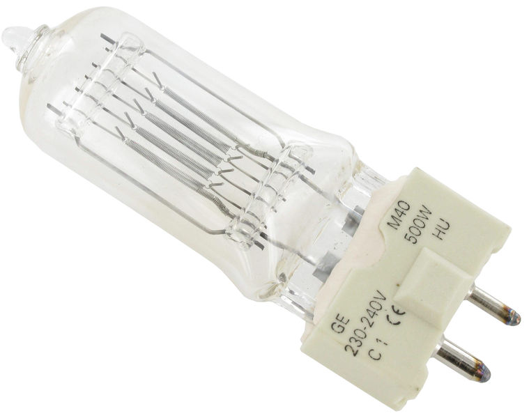 GE Lighting M40 Lamp 500W/230V GY9,5