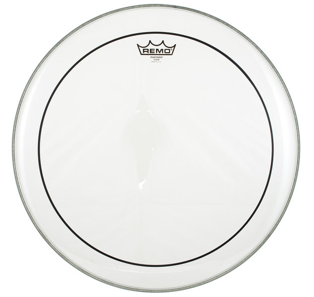 "Remo 18"" Pinstripe clear"