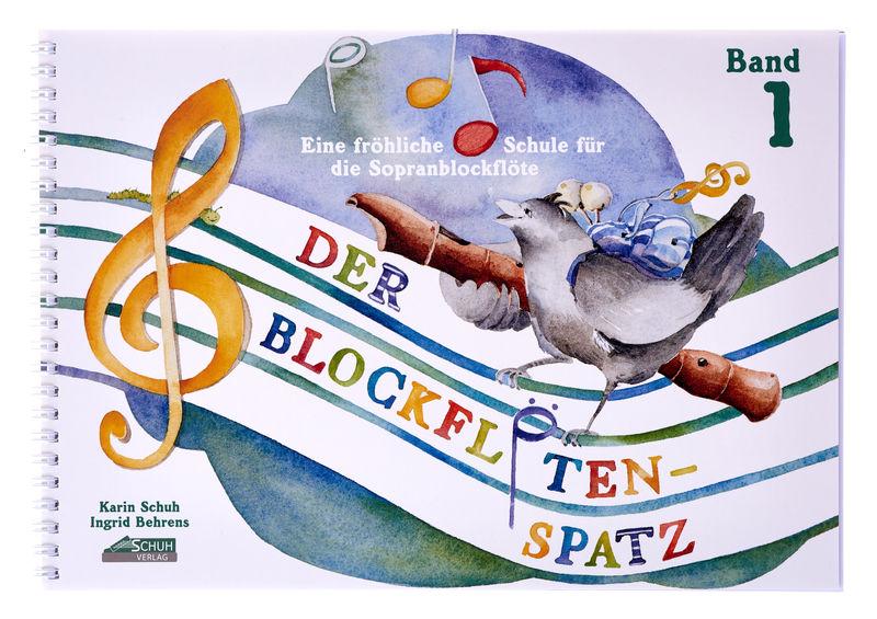 Schuh Verlag Der Blockflötenspatz 1
