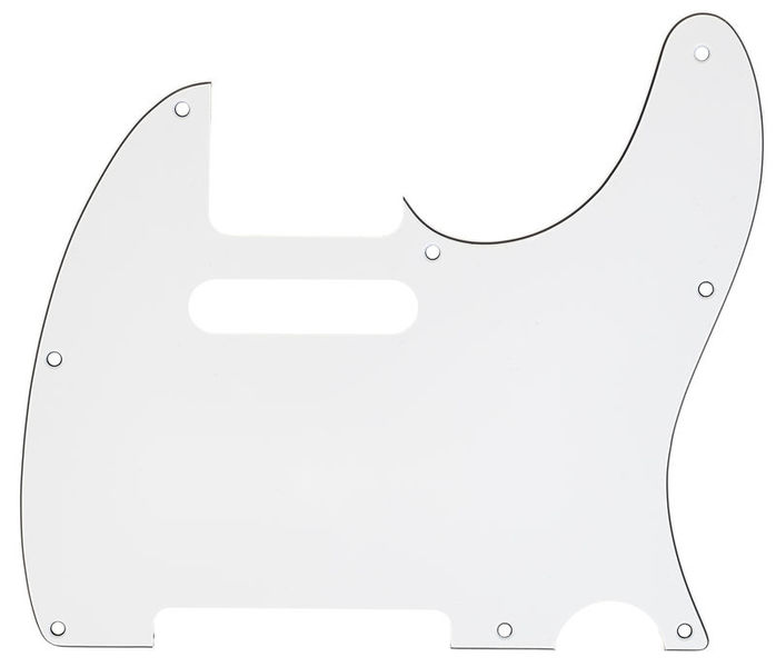 Harley Benton Parts Pickguard T-Style WH 8W