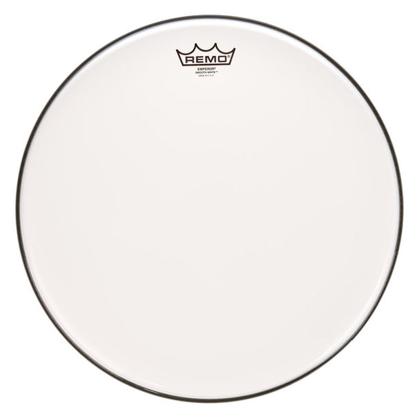 "Remo 16"" Emperor White Smooth"