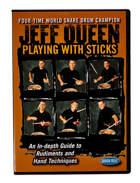Hudson Music Jeff Queen Playing With Sticks