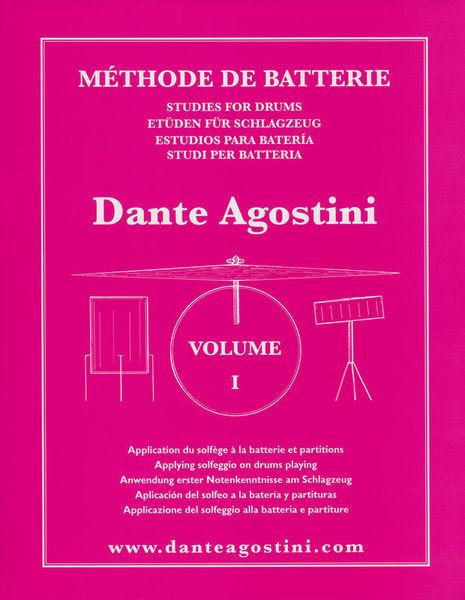 Méthode De Batterie Vol.1 Dante Agostini