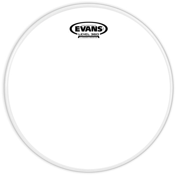 "Evans 10"" G1 Powercenter Snare -Down"