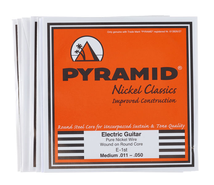 Pyramid Nickel Classics Medium 011-050