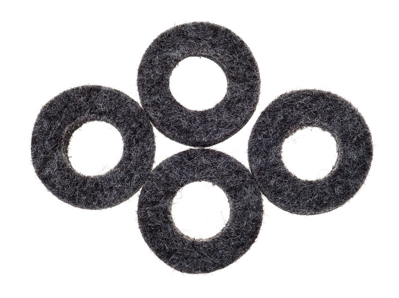 Gewa Hi-Hat Clutch Felt 4pcs Pack