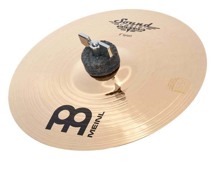 "Meinl 08"" Sound Caster Custom Splash"