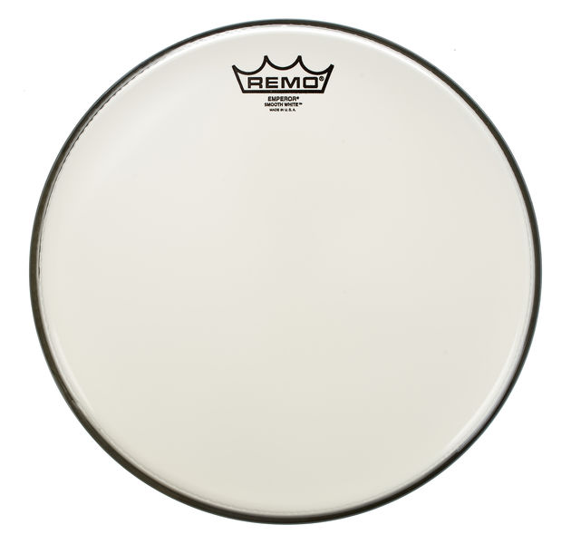 "Remo 12"" Emperor White Smooth"