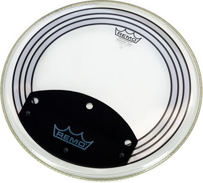 "Remo 18"" Powersonic Bass Clear"