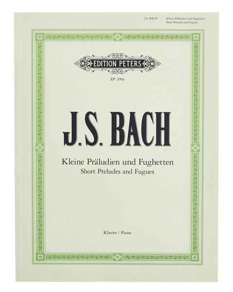 C.F. Peters Bach Kleine Präludien