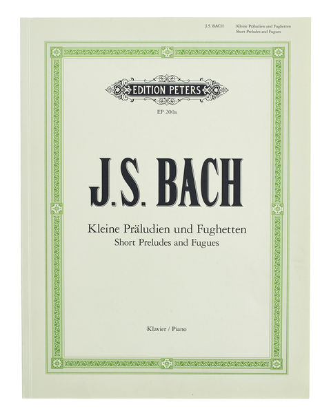 Edition Peters Bach Kleine Präludien