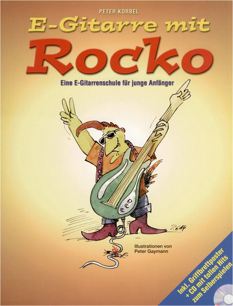 Bosworth E-Gitarre mit Rocko