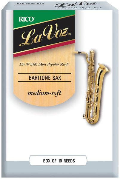 Daddario Woodwinds La Voz Baritone Sax MS
