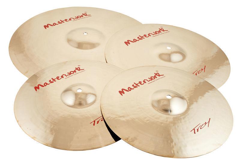 Troy Cymbal Set Masterwork
