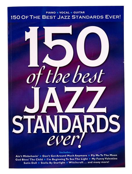 150 Of The Best Jazz Standards Hal Leonard