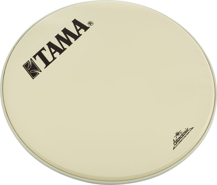 "Tama 22"" Resonant Bass Drum White"