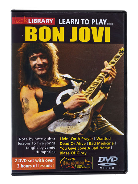Music Sales Learn to Play Bon Jovi