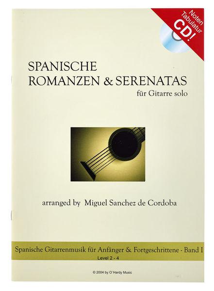 OHardy Music Spanische Rom. und Seren. CD 1