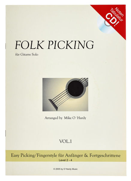 OHardy Music Folk Picking 1
