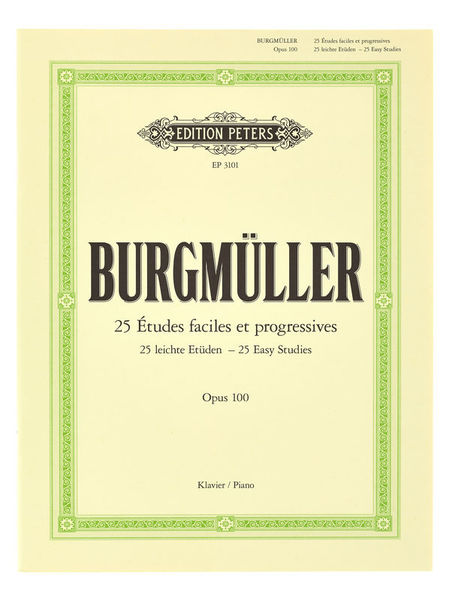 C.F. Peters Burgmüller Etüden