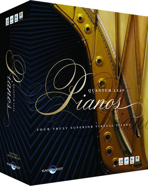 EastWest Quantum Leap Pianos Platinum