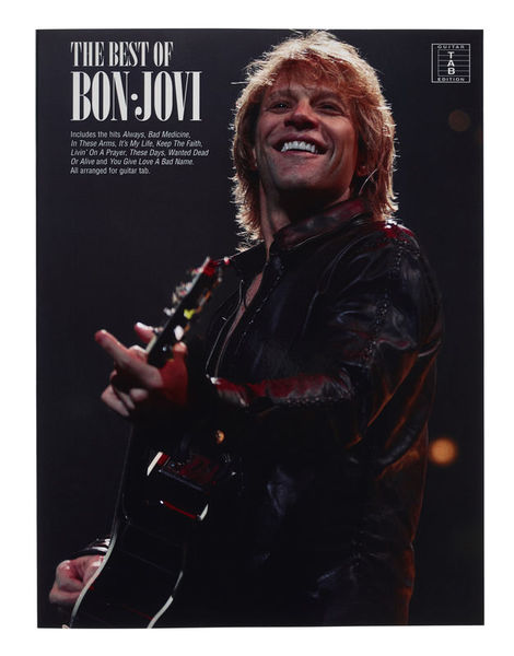 Music Sales Bon Jovi Best Of