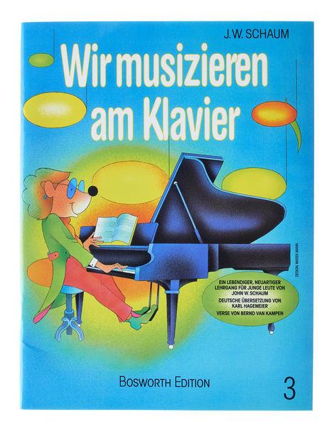 Bosworth Wir musizieren am Klavier Bd.3