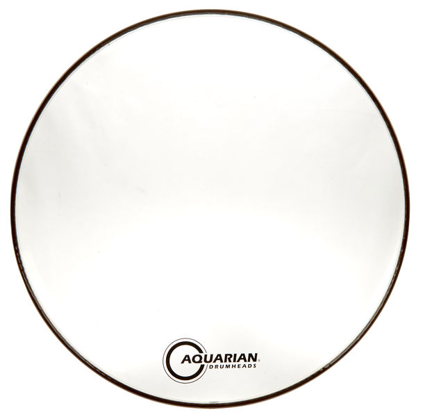 "Aquarian 22"" Classic Clear Bass Drum"