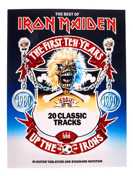 Music Sales Iron Maiden Best of