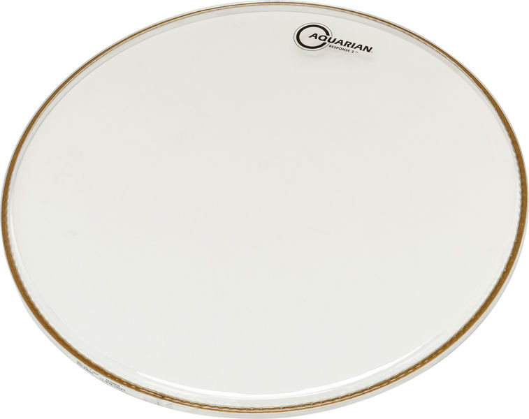 "Aquarian 20"" Response 2 Clear Bass Drum"