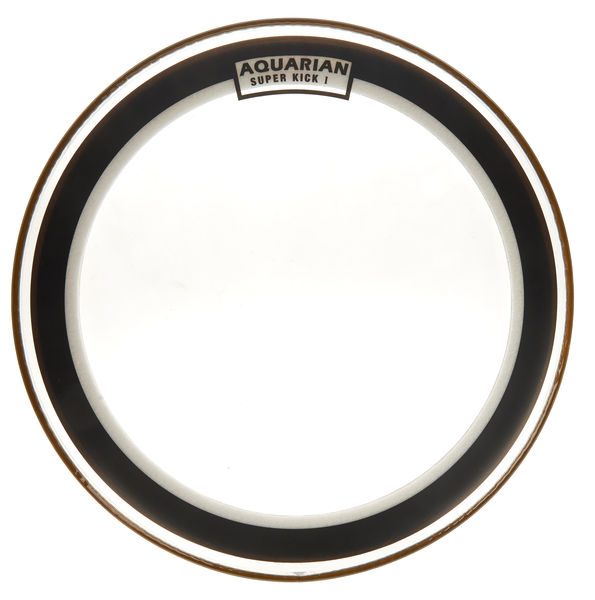 "Aquarian 20"" Super Kick Clear Bass Drum"