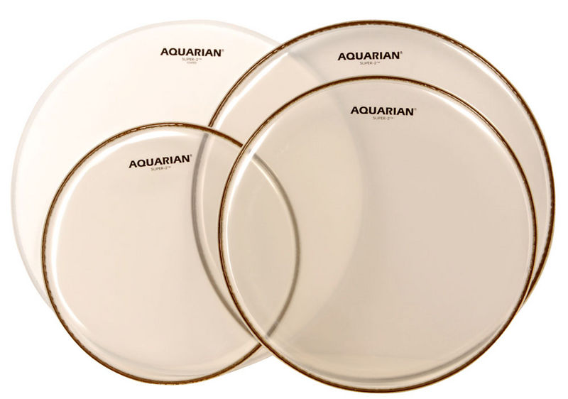 Aquarian QS2-A Drum Head Set Studio