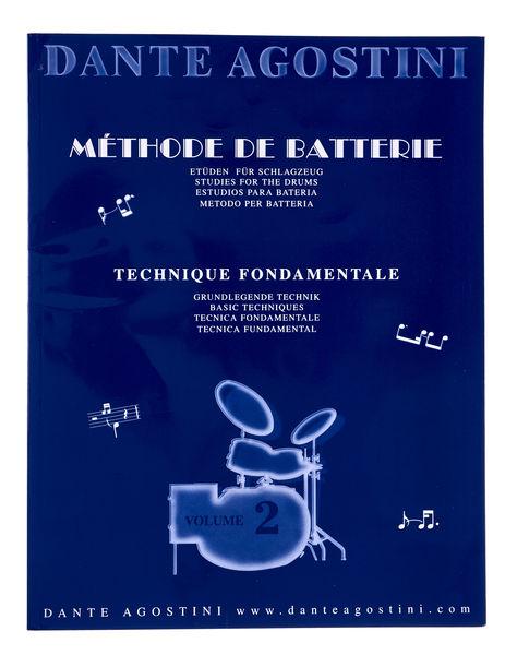 Méthode De Batterie Vol.2 Dante Agostini