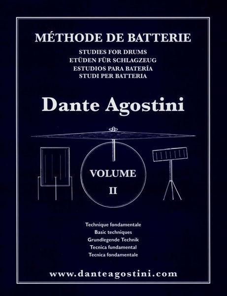 Dante Agostini Méthode De Batterie Vol.2