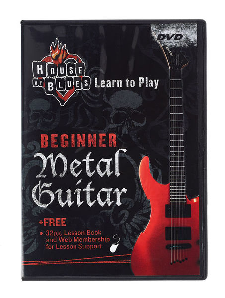 Music Sales Beginner Metal Guitar (DVD)