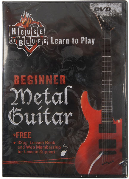 Music Sales Beginner Metal Guitar (DVD)